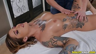 Astounding Kleio Valentien in senseless massage porn scenes