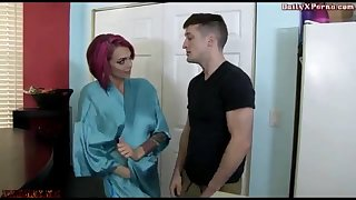 Son-In-Law forcing StepMom XXXMAX Interdict mother sonny pornography