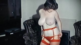 output 80's big tits striptease dance
