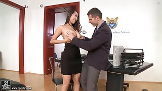 Office sex with jaw-dropping beauties just about the hottest compilation ever